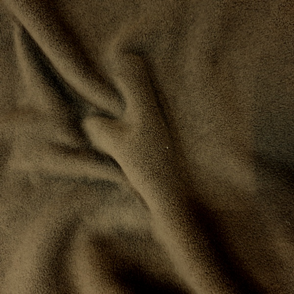 Plain Fleece Fabric  BROWN