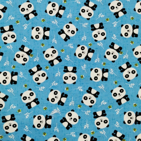 100% Cotton - BUZZY PANDA