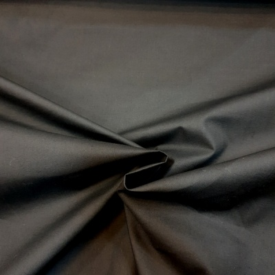 (2.8 Metre wide) Polycotton Percale BLACK