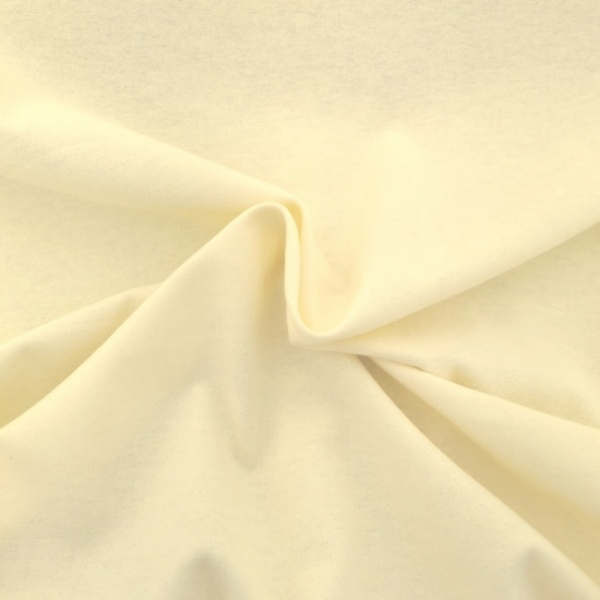 Winceyette Flannelette Cotton Cream
