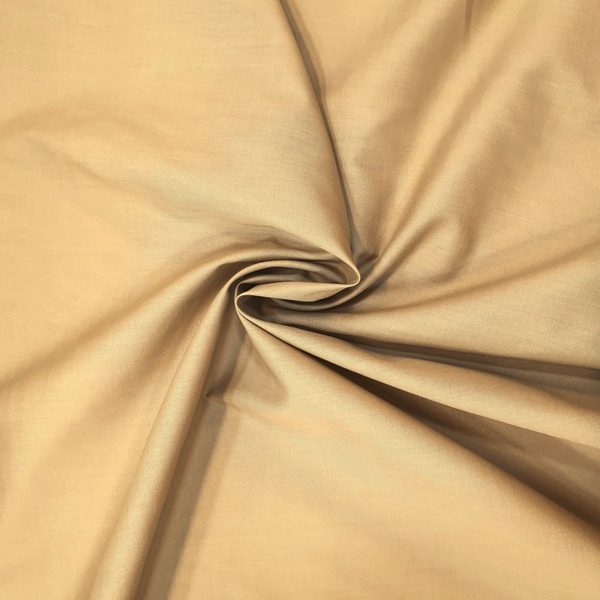 Plain Polycotton 45'' CAMEL