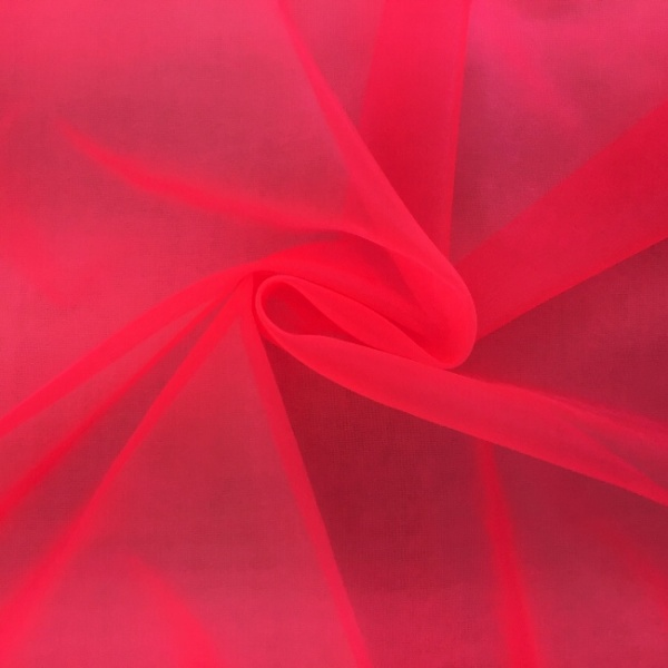 Crystal Organza SHOCKING PINK
