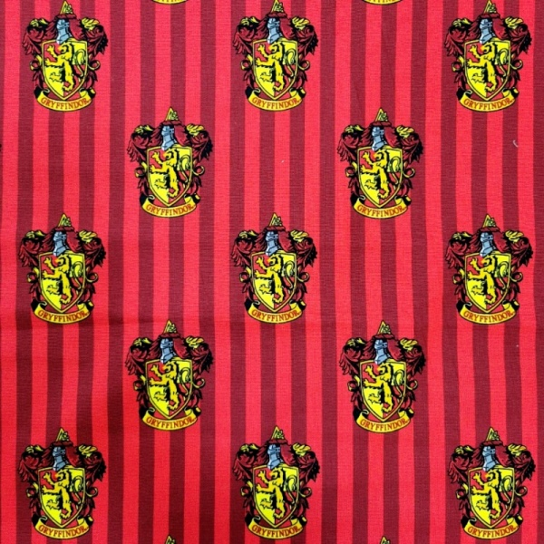 Harry Potter Gryffindor House 100% Cotton