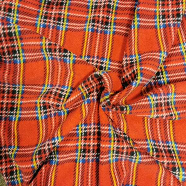 TARTAN FLEECE - ROYAL STEWART