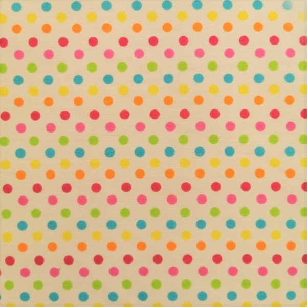 POLYCOTTON  - 8mm Multispot 2