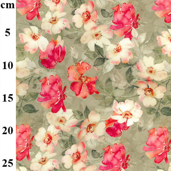 100% Cotton Lawn Design 5 PINK FLORAL