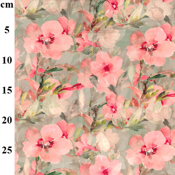 100% Cotton Lawn Design 7 PINK FLORAL
