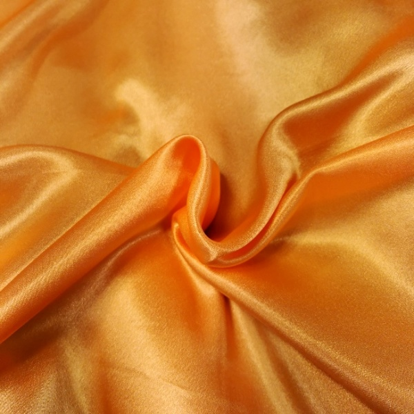 Crepe Backed Satin Light Orange