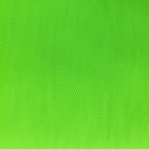 Plain Dressnet Bright Green