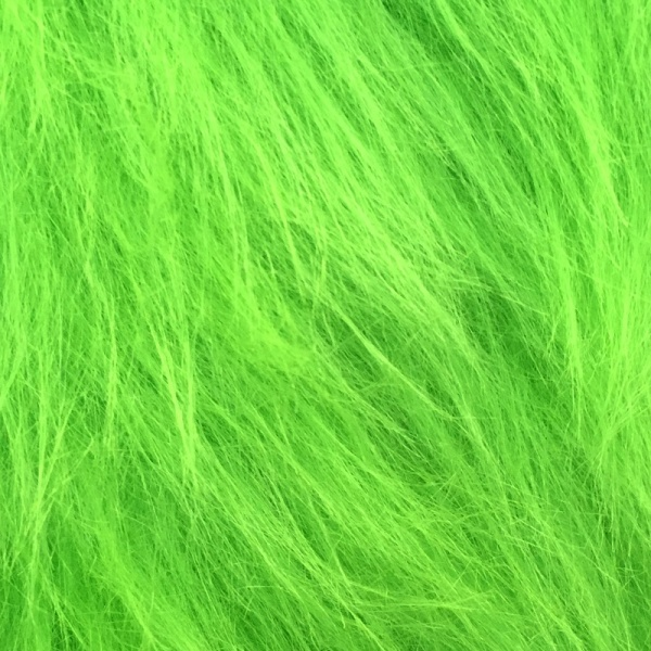 Long Hair Fur Lime - Green