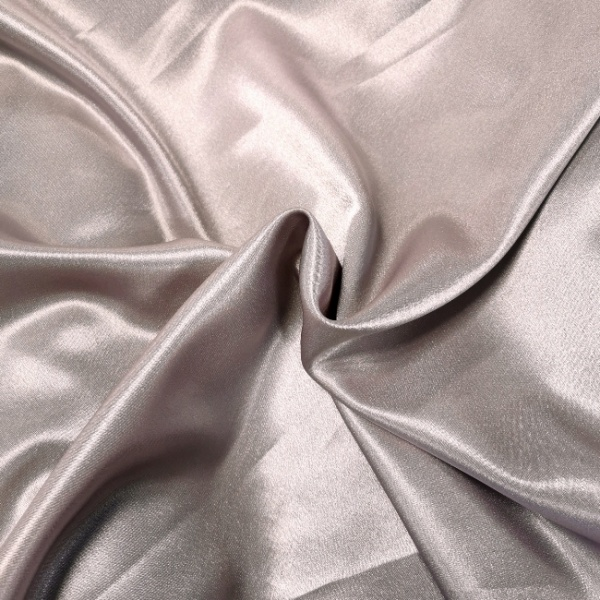 Crepe Backed Satin Mauve
