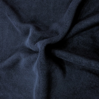 Plain Fleece Fabric  NAVY