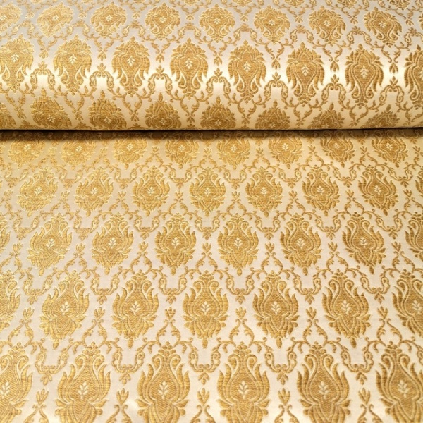 Regal Brocade GOLD on GOLD