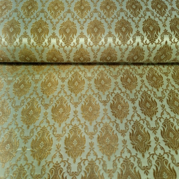 Regal Brocade GOLD on MINT