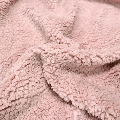 Sherpa Fleece Baby Pink