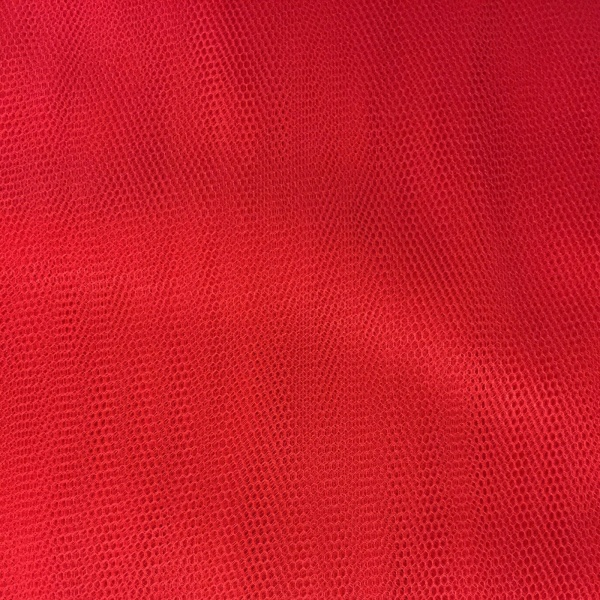 Plain Dressnet Red