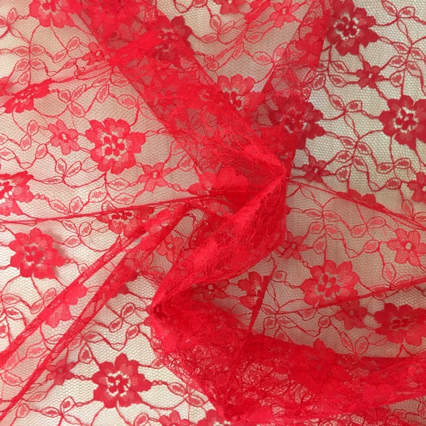 Budget Lace RED