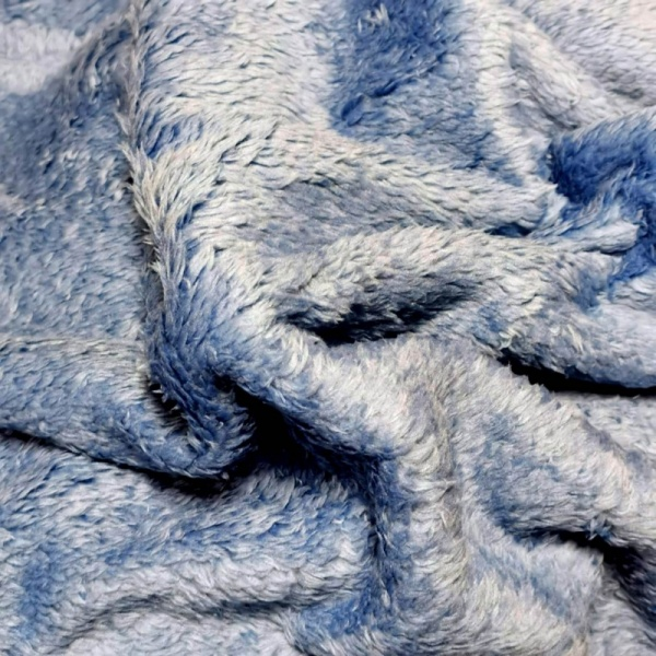 Fluffy Fleece - SKY BLUE