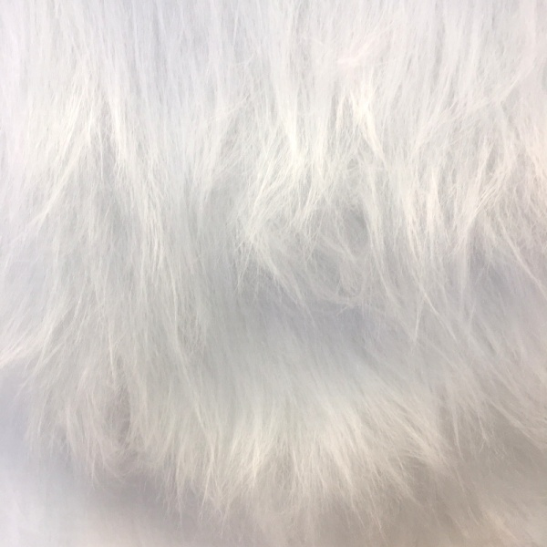 Long Hair Fur -  White