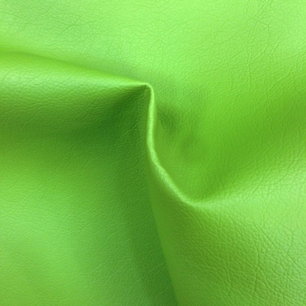 Flame Retardant Leatherette APPLE GREEN