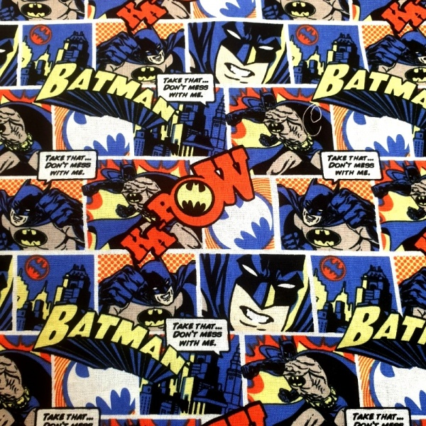 100% Cotton - Batman Pop Comics