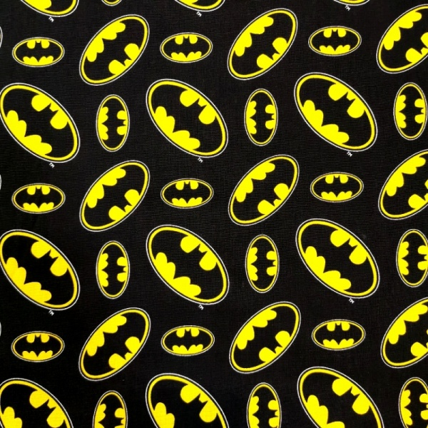 Batman Logo -100% Cotton