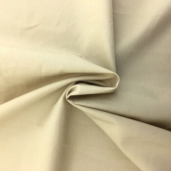 100% Cotton Poplin - BEIGE