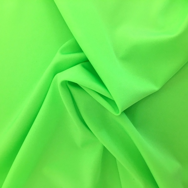 Plain Lycra FLUORESCENT GREEN