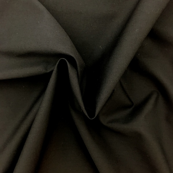 6.2 metre wide Cotton Sheeting Flame Retardant- BLACK