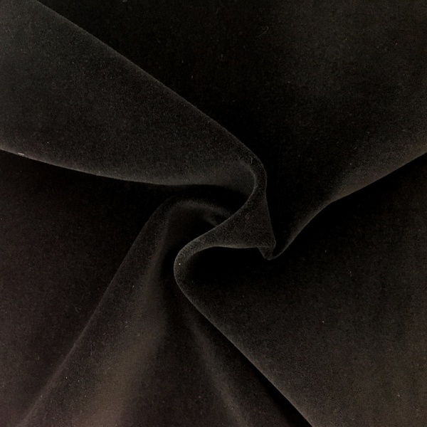 Cotton Velvet Black