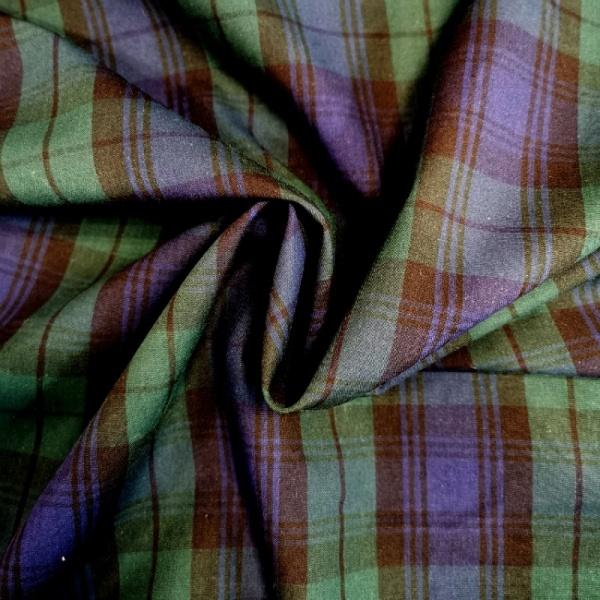 100% Cotton Tartan - BLACKWATCH