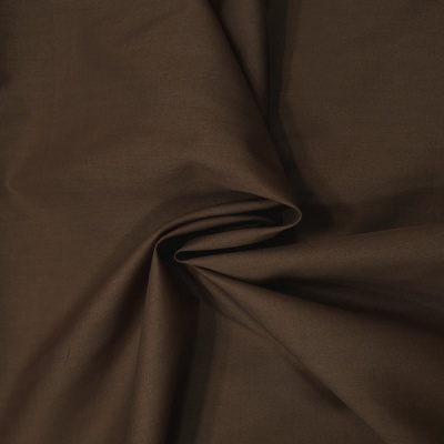 Plain Polycotton 45'' BROWN