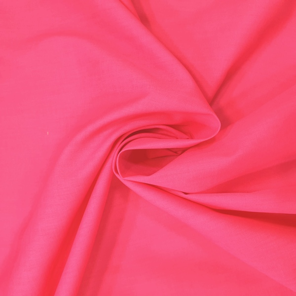 Plain Polycotton 45'' CERISE