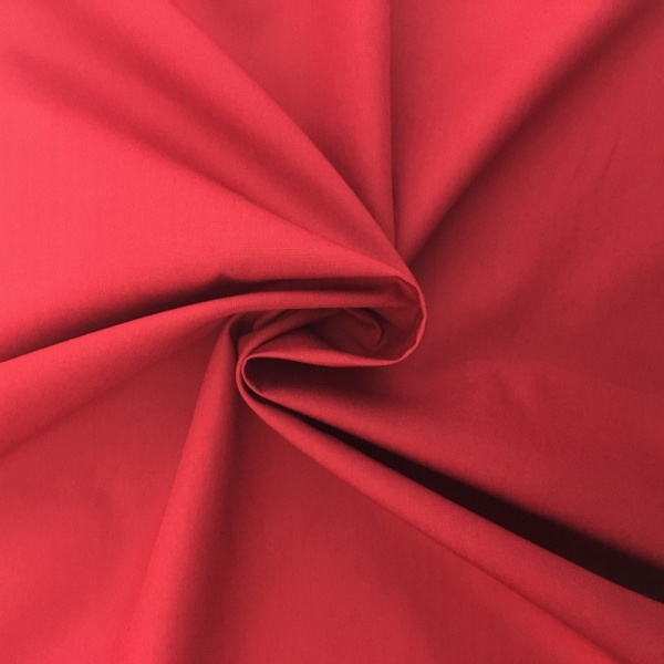 Plain Cotton Poplin - CLARET