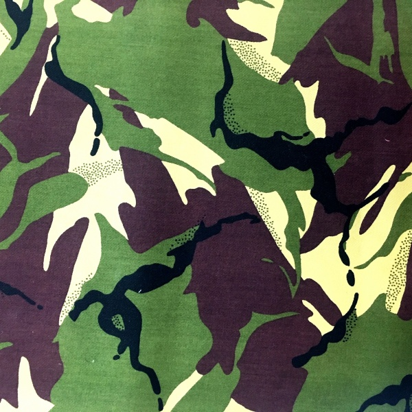 Camouflage Cotton Drill Green