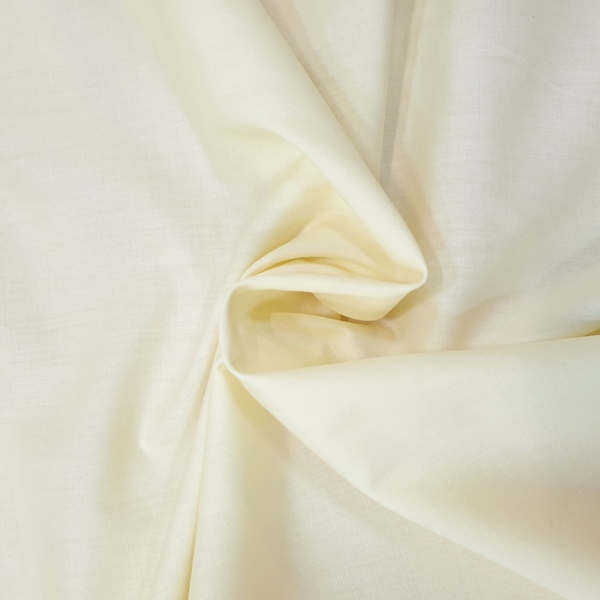 Plain Polycotton 45'' CREAM