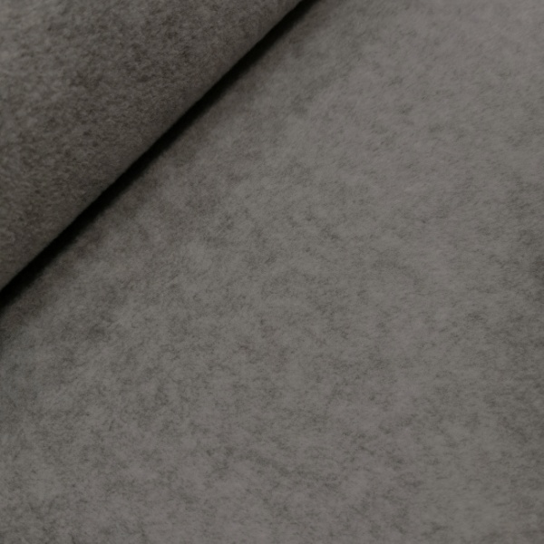 Plain Fleece Fabric  DARK GREY