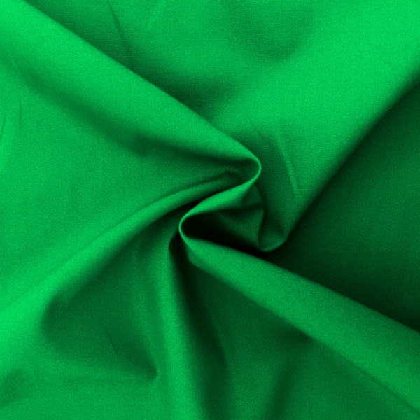 100% Cotton Poplin - EMERALD