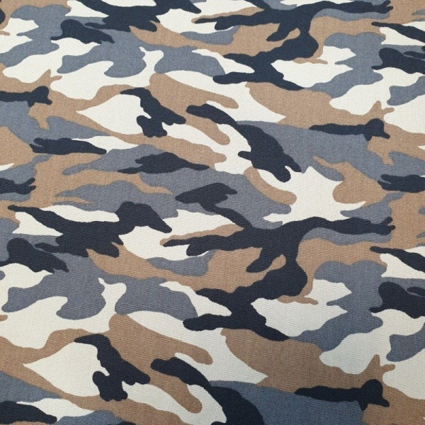 100% Cotton Camouflage - FOREST