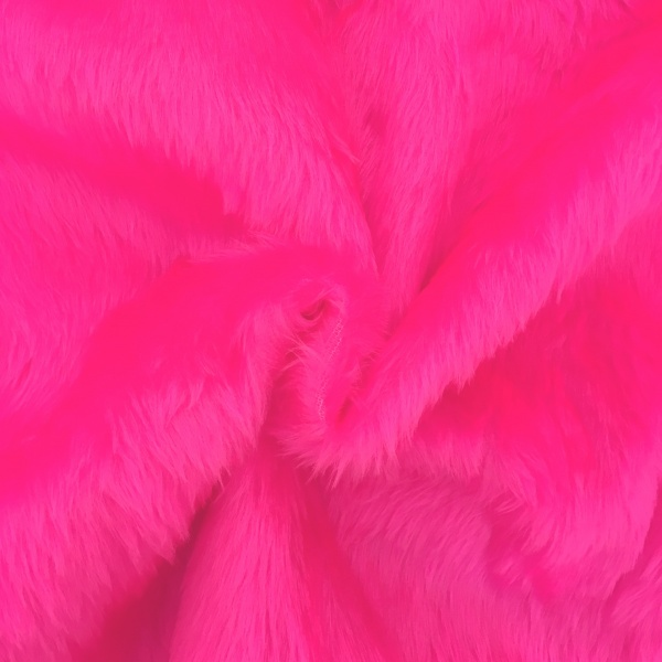 Plain Fur - BRIGHT PINK