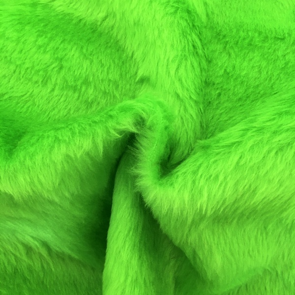 Plain Fur - LIME GREEN