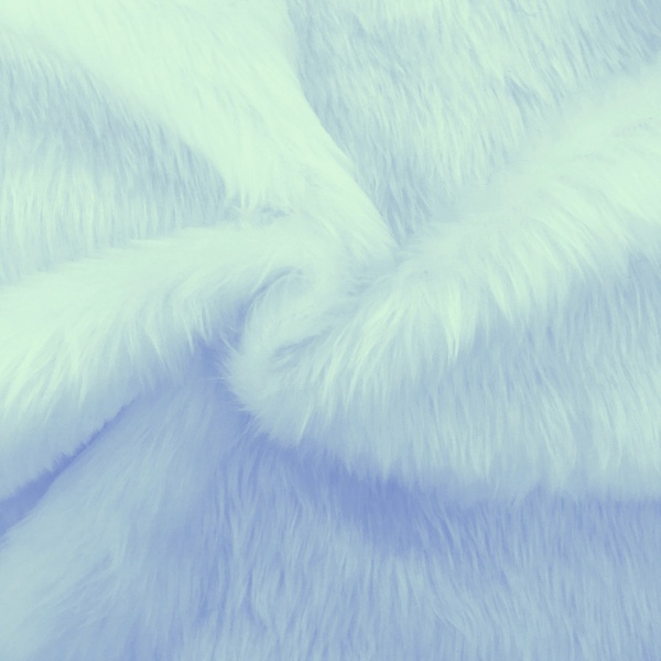 Plain Fur - SKY BLUE