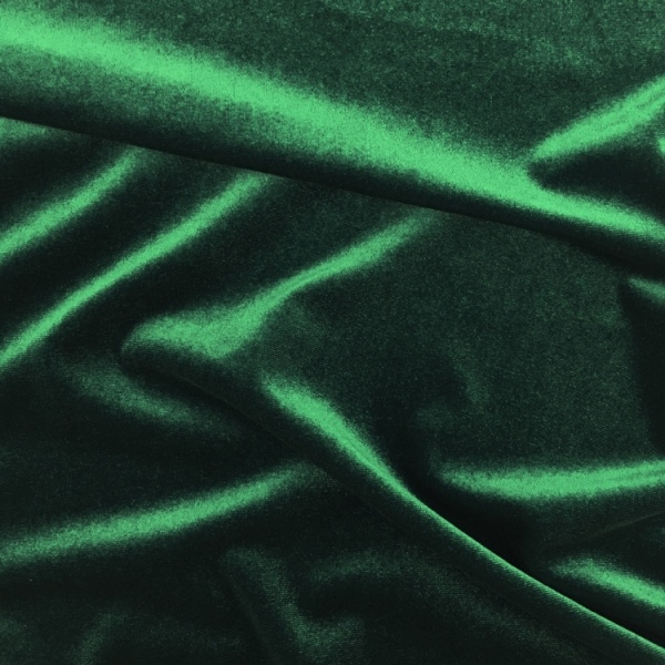 Stretch Velvet - DARK GREEN