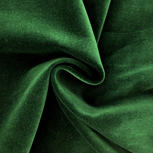 Cotton Velvet Green