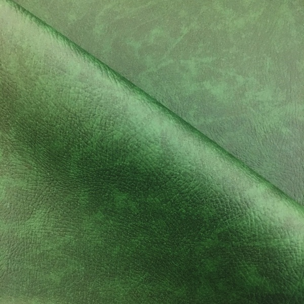 Flame Retardant Leatherette Green