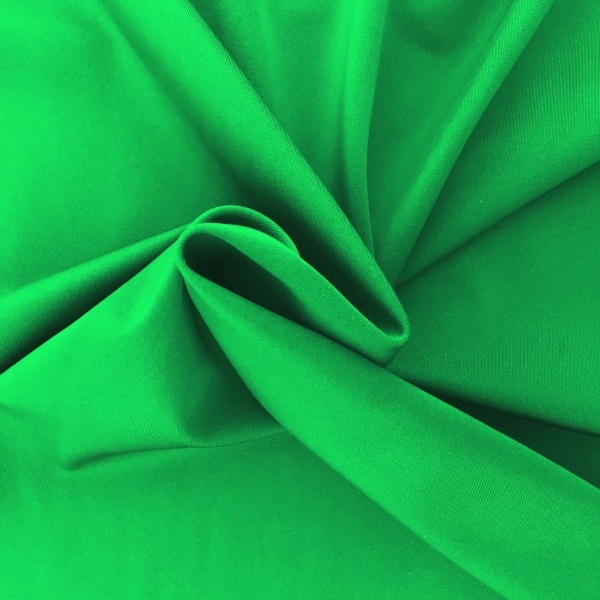 Plain Lycra EMERALD GREEN