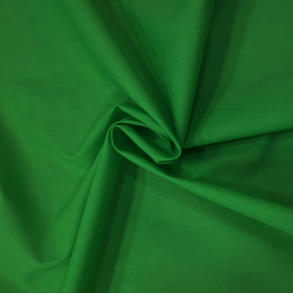 Plain Polycotton 45'' EMERALD GREEN