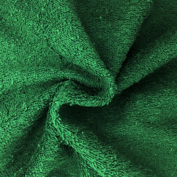 Towelling - GREEN