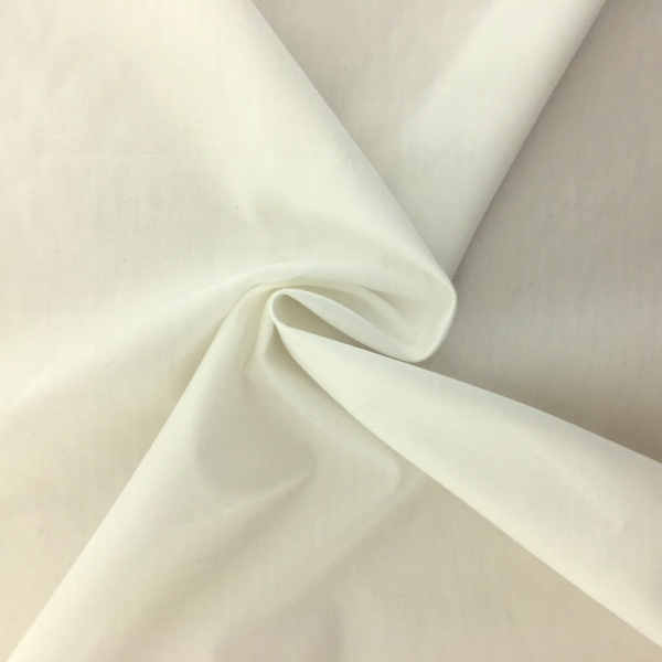 Plain Cotton Poplin - IVORY