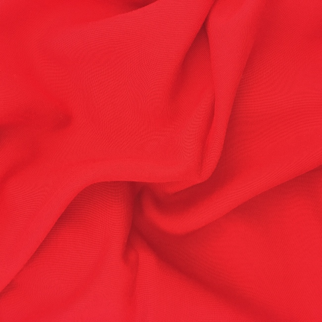 Plain 100% Viscose RED